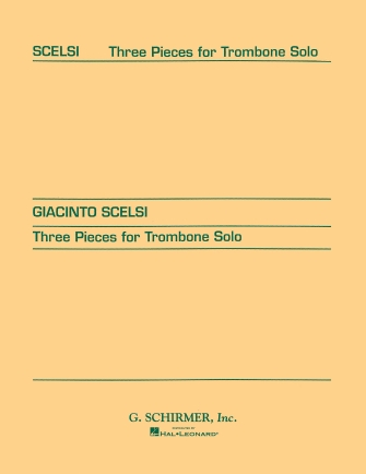 Product Cover for Three pieces for Trombone Solo (1956)
