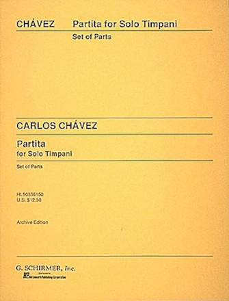 Product Cover for Partita for Solo Timpani