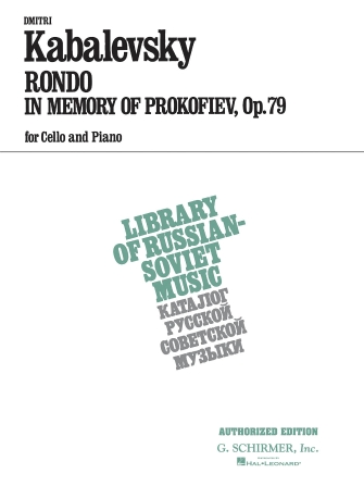 Product Cover for Rondo in Memory of Prokofieff, Op. 79