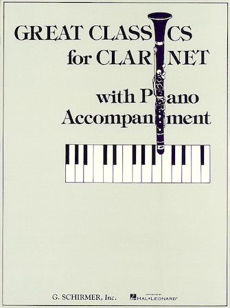 Product Cover for Great Classics for Clarinet – 3 Centuries of Music