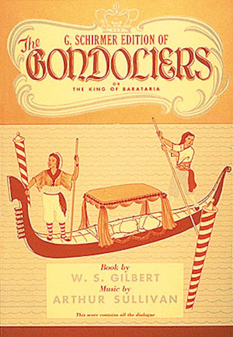 Product Cover for The Gondoliers
