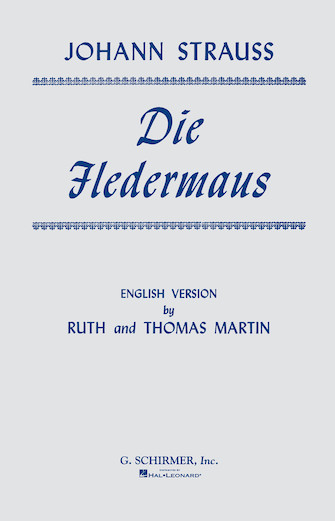 Product Cover for Die Fledermaus