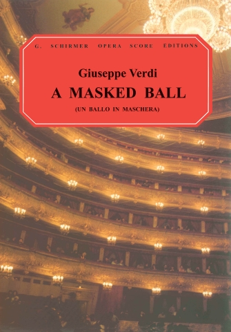 Product Cover for Un Ballo in Maschera (A Masked Ball)