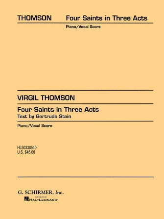 Product Cover for Four Saints in Three Acts