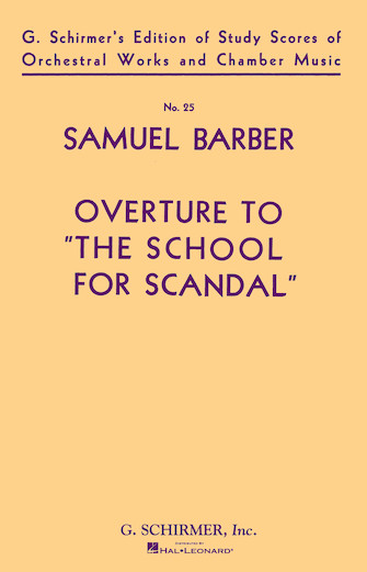 Product Cover for Overture to The School for Scandal, Op. 5