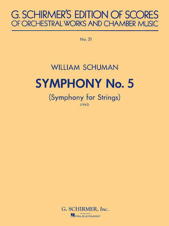 Product Cover for Symphony No. 5 (1943): Symphony for Strings