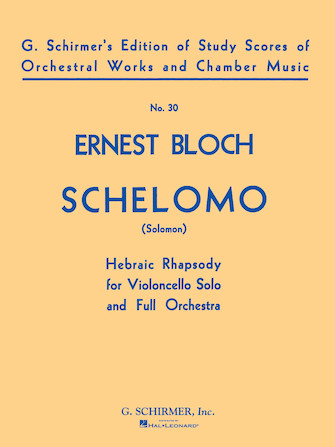 Product Cover for Schelomo (Hebraic Rhapsody)