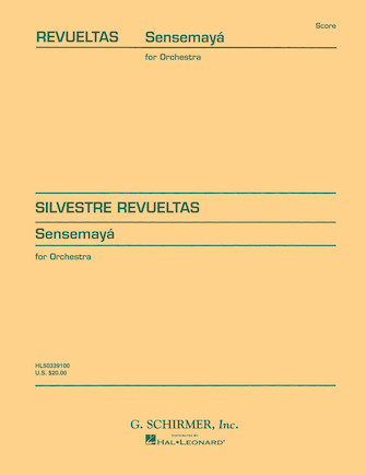 Product Cover for Sensemayà (1938)