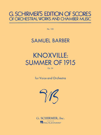 Product Cover for Knoxville: Summer of 1915