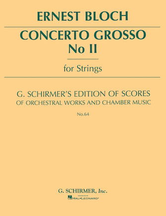 Product Cover for Concerto Grosso No. 2