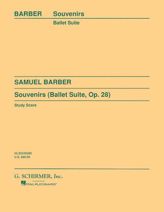 Product Cover for Souvenirs Ballet Suite, Op. 28 (Original)