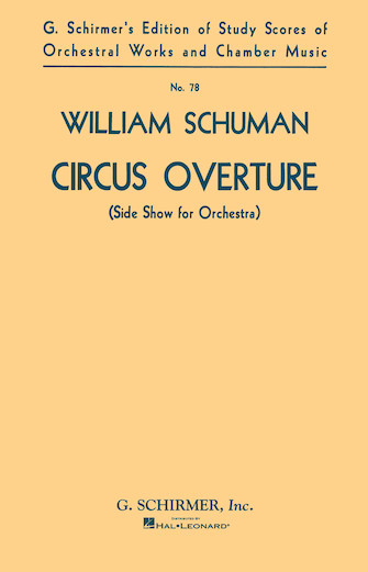 Product Cover for Circus Overture (Side Show for Orchestra)