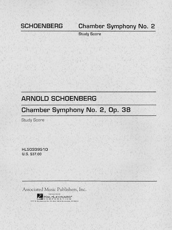 Product Cover for Chamber Symphony No. 2, Op. 38