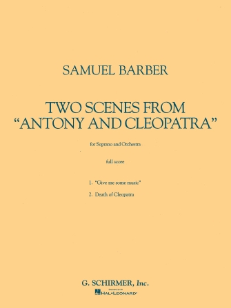 Product Cover for Two Scenes from Antony and Cleopatra