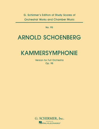 Product Cover for Kammersymphonie, Op. 9B (Chamber Symphony)