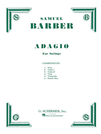 Product Cover for Adagio for Strings, Op. 11