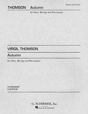 Product Cover for Autumn (Concertino)
