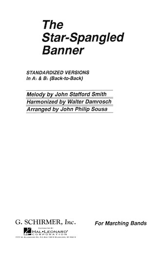 Product Cover for The Star Spangled Banner