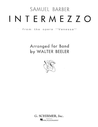 Product Cover for Intermezzo, Op. 32