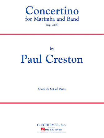 Product Cover for Concertino for Marimba and Band, Op. 21b