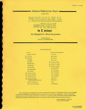 Product Cover for Passacaglia and Fugue in C Minor