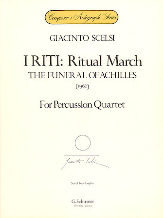 Product Cover for I Riti: Ritual March – The Funeral of Achilles