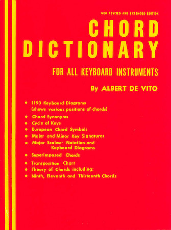 Product Cover for Chord Dictionary for Keyboard Instruments