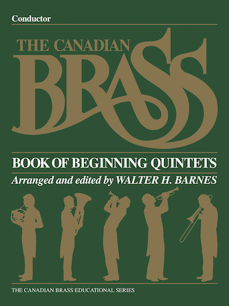 Product Cover for The Canadian Brass Book of Beginning Quintets