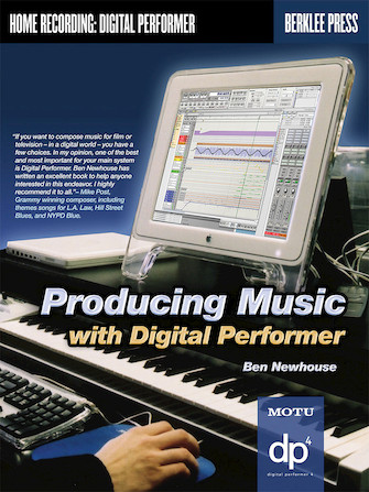 Product Cover for Producing Music with Digital Performer