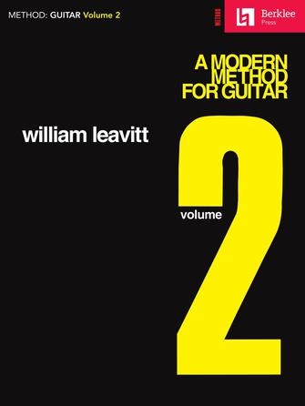 Product Cover for A Modern Method for Guitar – Volume 2