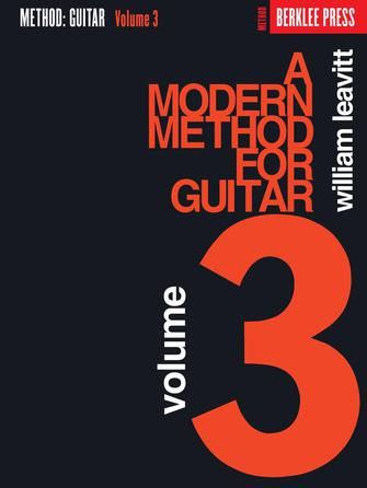 Product Cover for A Modern Method for Guitar – Volume 3