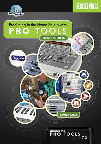 Product Cover for Producing in the Home Studio with Pro Tools – Second Edition