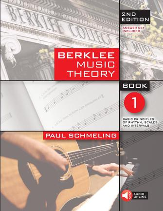 Product Cover for Berklee Music Theory Book 1 – 2nd Edition