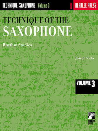 Product Cover for Technique of the Saxophone – Volume 3