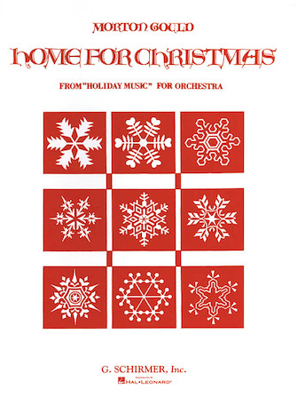Product Cover for Home for Christmas (from Holiday Music for Orchestra, Set A)