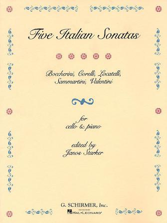 Product Cover for 5 Italian Sonatas