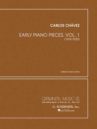 Product Cover for Early Piano Pieces – Volume 1 (1918–1925)