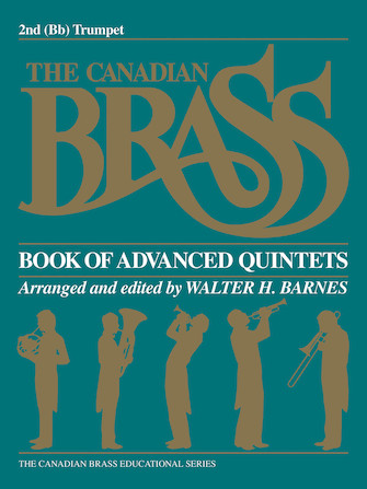 Product Cover for The Canadian Brass Book of Advanced Quintets