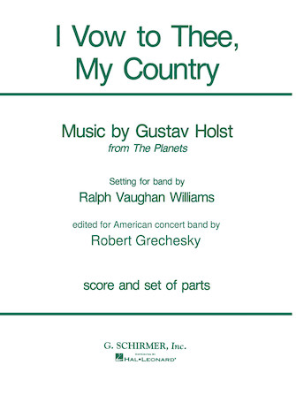 Product Cover for I Vow to Thee, My Country
