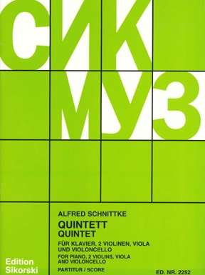 Product Cover for Piano Quintet