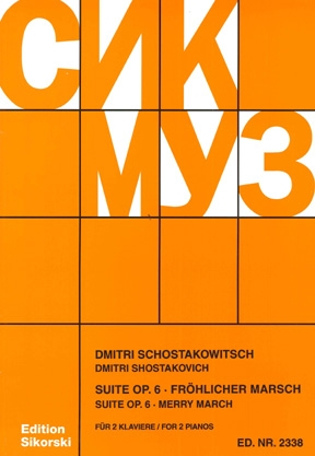 Product Cover for Merry March Suite, Op. 6