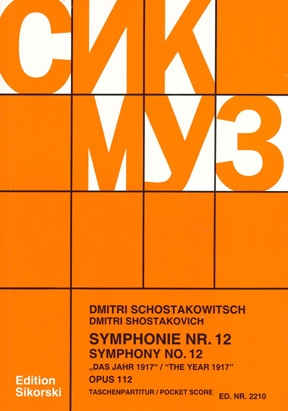 Product Cover for Symphony No. 12, Op. 112