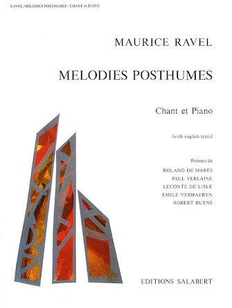 Product Cover for Mélodies Posthumes