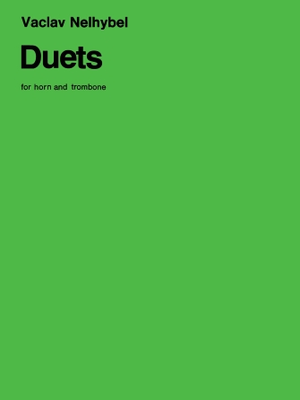 Product Cover for Duets for Horn and Trombone