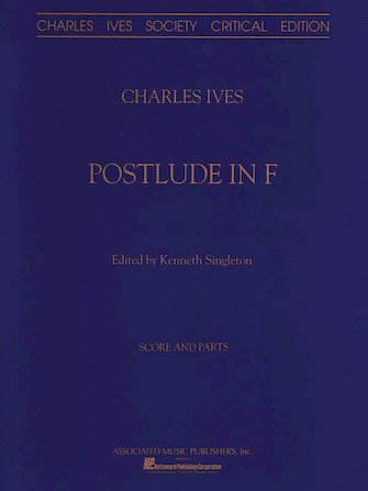 Product Cover for Postlude In F Orchestra Sc&Ptcritical Edition