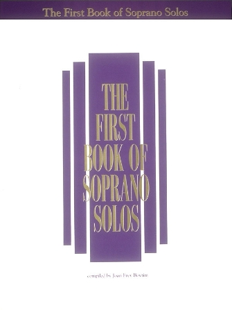 Product Cover for The First Book of Soprano Solos