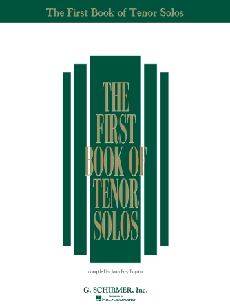 Product Cover for The First Book of Tenor Solos