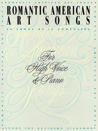 Product Cover for Romantic American Art Songs