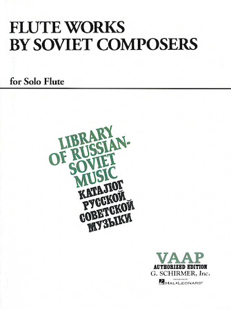 Product Cover for Flute Works by Soviet Composers