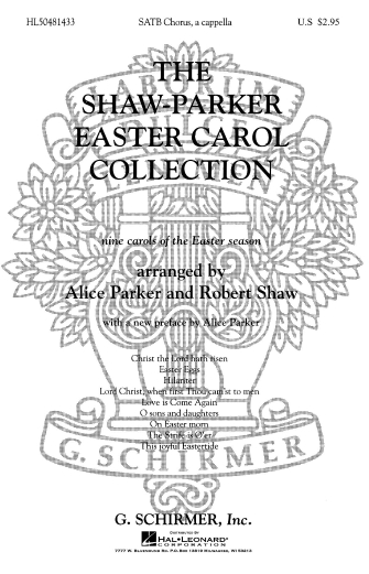Product Cover for Shaw Parker Easter Carol Collection, The Nine Carols Of Easter Season A Cappella